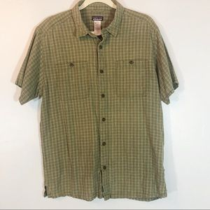 Patagonia organic cotton & hemp shirt